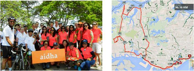 Aidha Tour de Singapore 2014