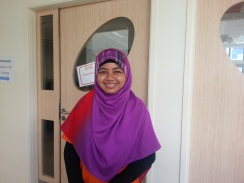 Tri has been with Aidha since 2009 when she first joined as a student. She has been a trainee since 2011.