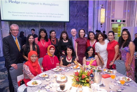Standing from left to right: Paul Davies, Nur Aini, Saleemah Ismail, Sharda Vishwanathan, Karen Fernandez, Nick Duncan, Claudine Lim, Janelyn Pascua, Ida Supahat, Joy Mompal and Norma Casinova. Seated from left to right: Warih Sulistyowati, Diyah Supeni, Emma Gumangan, Gladys Dizon.